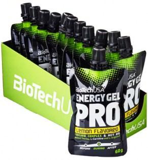 Energy Gel Pro, Lemon - 12 x 60 ml. versandkostenfrei/portofrei bestellen/kaufen