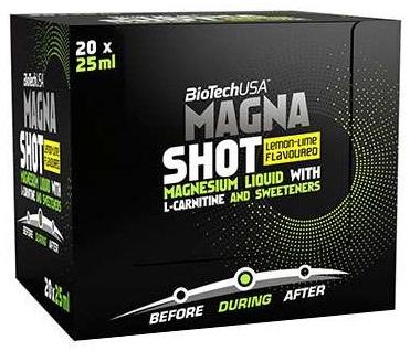Magna Shot, Lime Lemon - 20 x 25 ml. versandkostenfrei/portofrei bestellen/kaufen