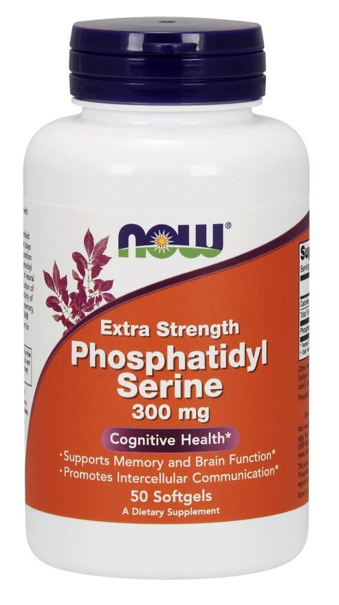 Phosphatidyl Serine, 300mg Extra Strength - 50 softgels versandkostenfrei/portofrei bestellen/kaufen