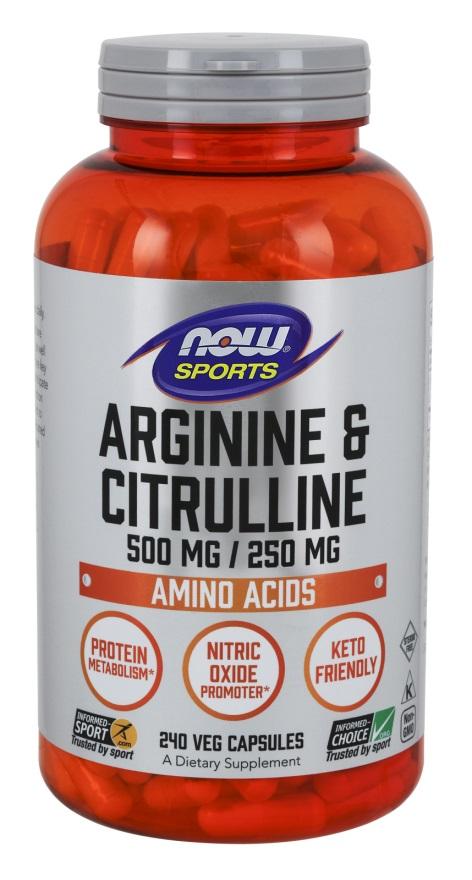 Arginine & Citrulline - 240 vcaps versandkostenfrei/portofrei bestellen/kaufen