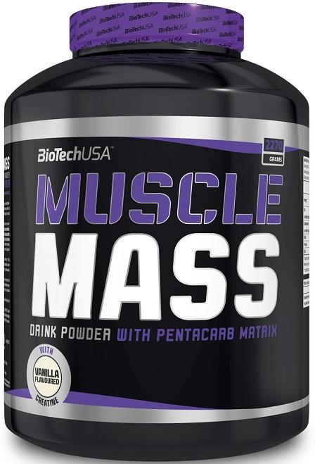 Muscle Mass, Vanillia - 2270g versandkostenfrei/portofrei bestellen/kaufen