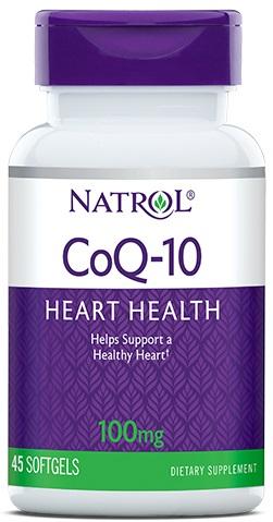 CoQ-10, 100mg - 45 softgels versandkostenfrei/portofrei bestellen/kaufen