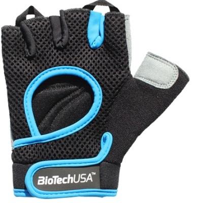 Budapest Gloves, Black Cyan Blue - Large versandkostenfrei/portofrei bestellen/kaufen