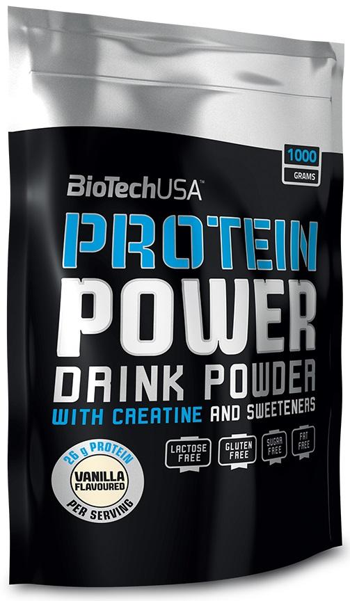 Protein Power, Vanilla - 1000g versandkostenfrei/portofrei bestellen/kaufen
