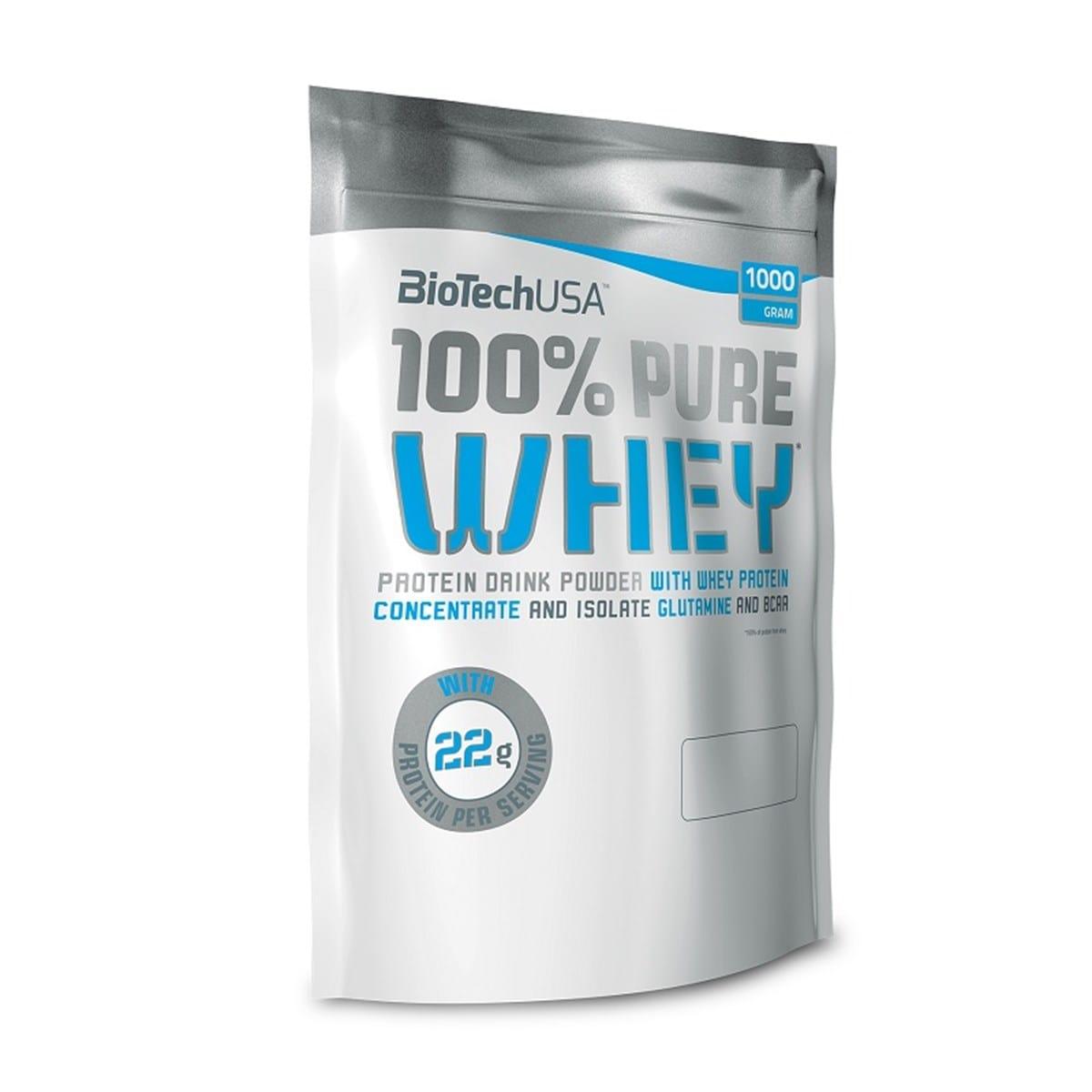 100% Pure Whey, Strawberry - 1000g versandkostenfrei/portofrei bestellen/kaufen