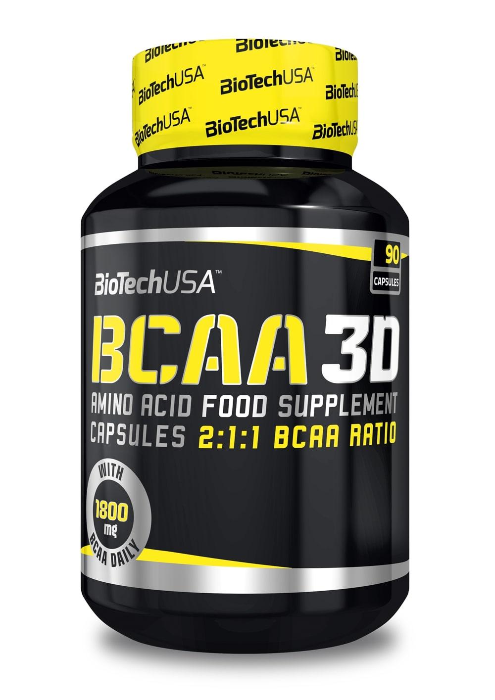 BCAA 3D - 90 caps versandkostenfrei/portofrei bestellen/kaufen