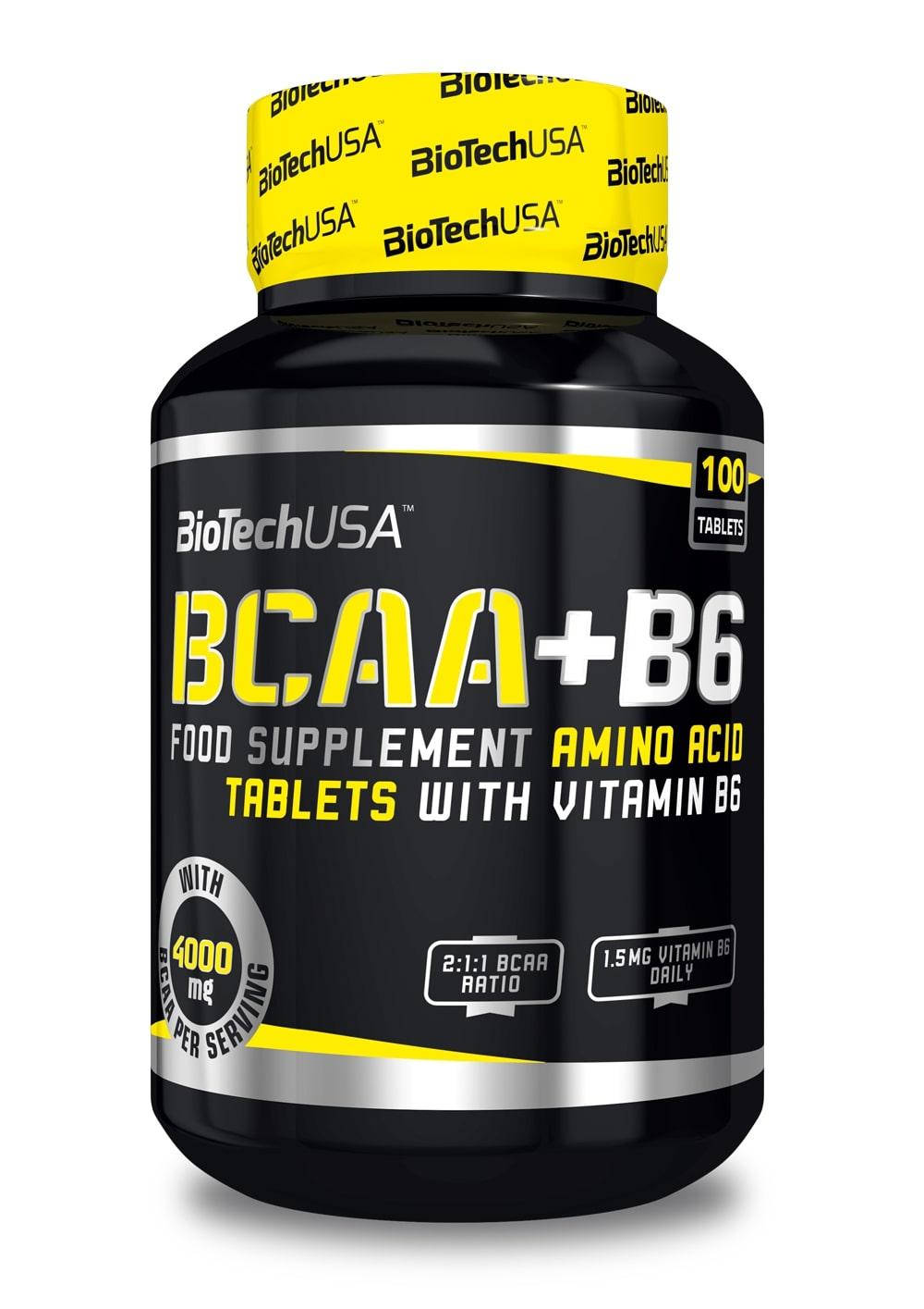 BCAA+B6 - 100 tablets versandkostenfrei/portofrei bestellen/kaufen