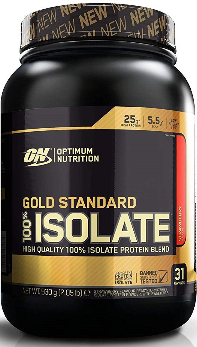 Gold Standard 100% Isolate, Strawberry - 930g versandkostenfrei/portofrei bestellen/kaufen