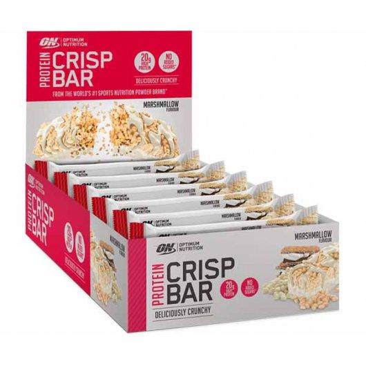 Protein Crisp Bar, Marshmallow - 10 x 65g versandkostenfrei/portofrei bestellen/kaufen