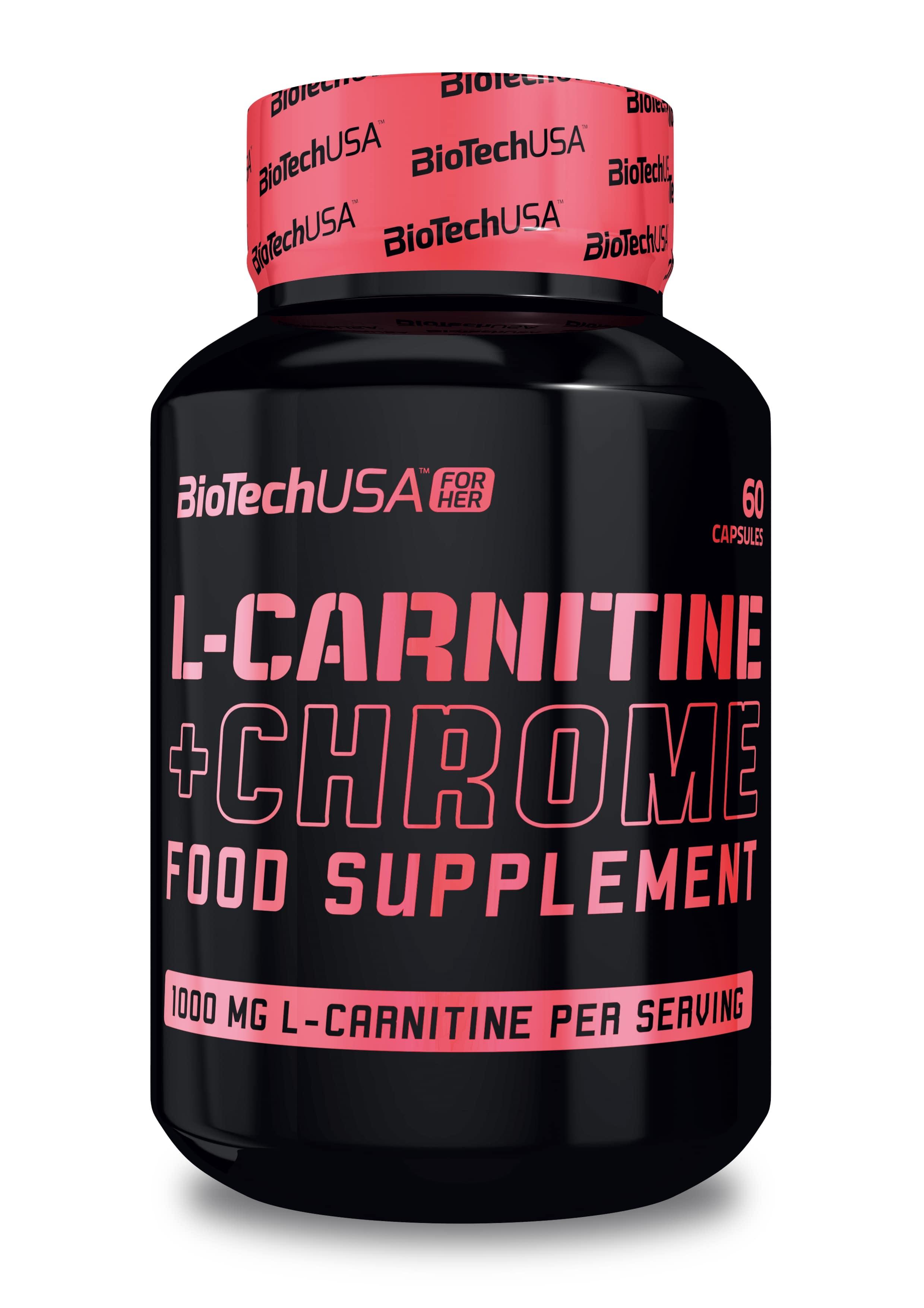 L-Carnitine + Chrome - 60 caps versandkostenfrei/portofrei bestellen/kaufen