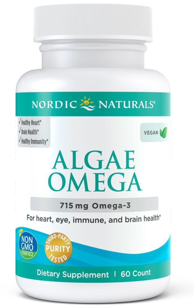Algae Omega, 715mg Omega 3 - 60 softgels versandkostenfrei/portofrei bestellen/kaufen