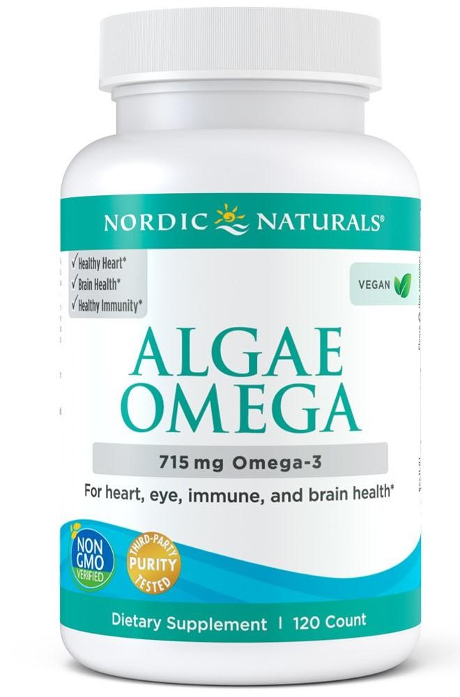Algae Omega, 715mg Omega 3 - 120 softgels versandkostenfrei/portofrei bestellen/kaufen
