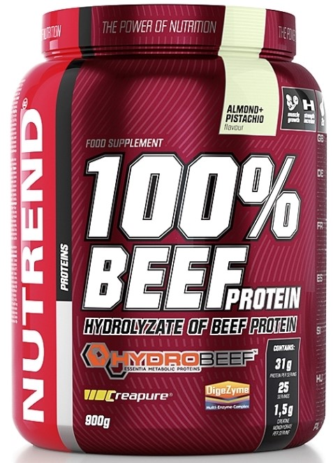 100% Beef Protein, Almond Pistachio - 900g versandkostenfrei/portofrei bestellen/kaufen