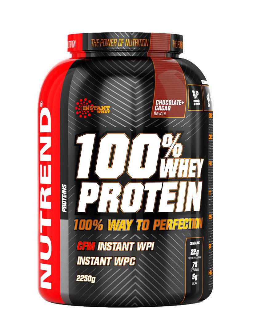 100% Whey Protein, Chocolate Cocoa - 2250g versandkostenfrei/portofrei bestellen/kaufen