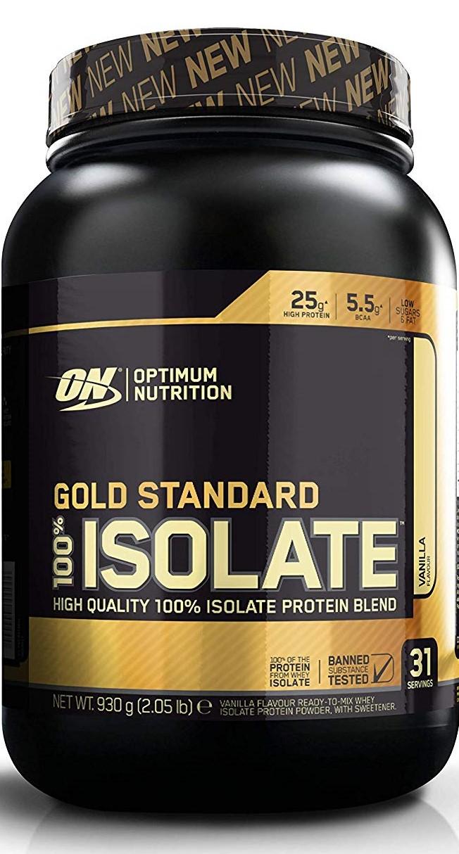 Gold Standard 100% Isolate, Vanilla - 930g versandkostenfrei/portofrei bestellen/kaufen