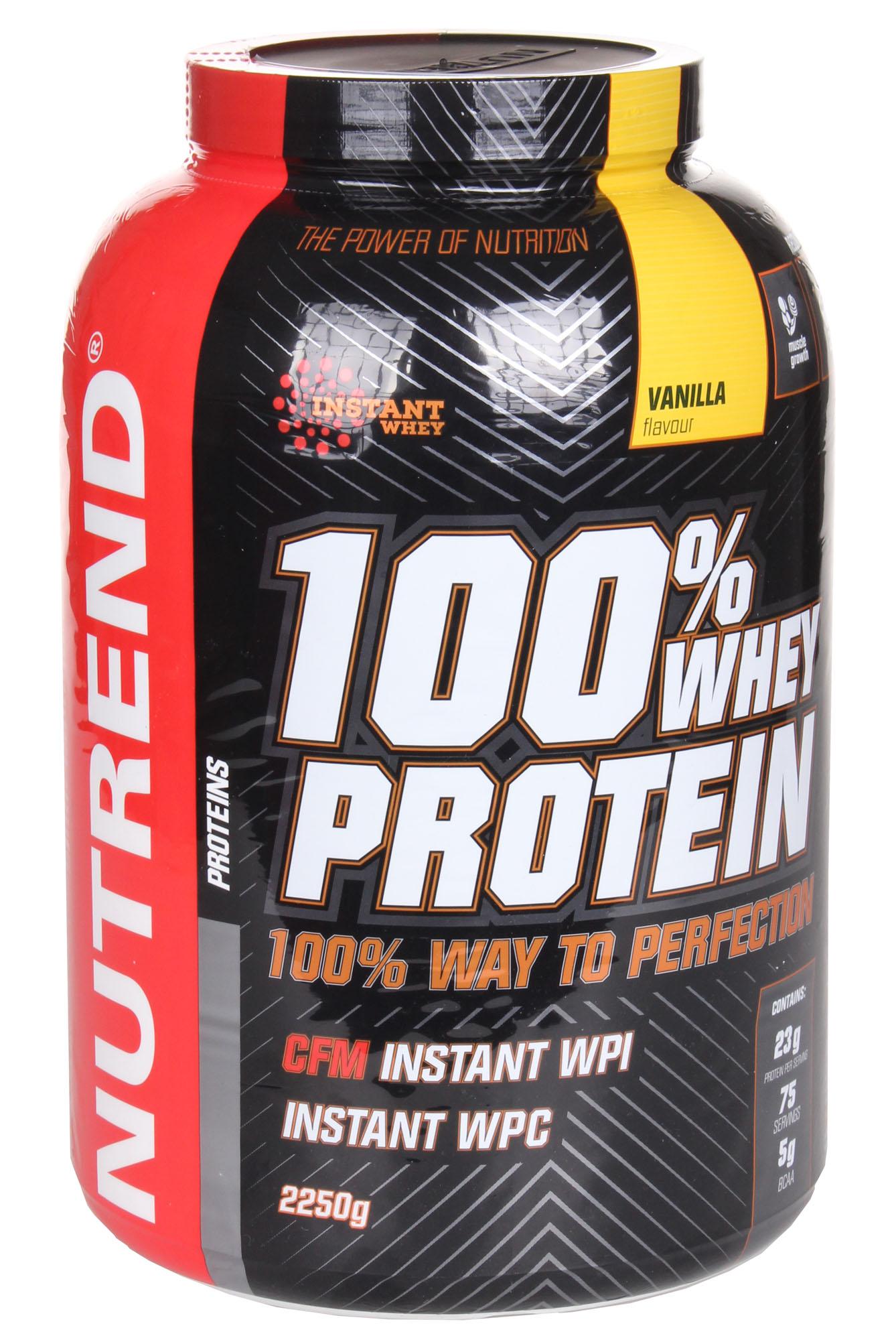 100% Whey Protein, Vanilla - 2250g versandkostenfrei/portofrei bestellen/kaufen