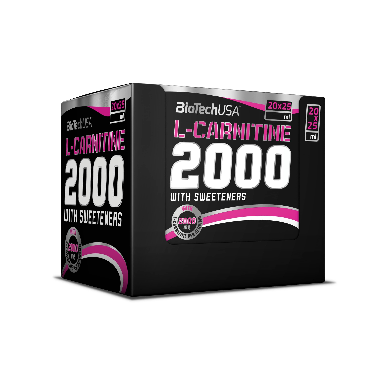 L-Carnitine 2000, Green Tea - 20 x 25 ml versandkostenfrei/portofrei bestellen/kaufen