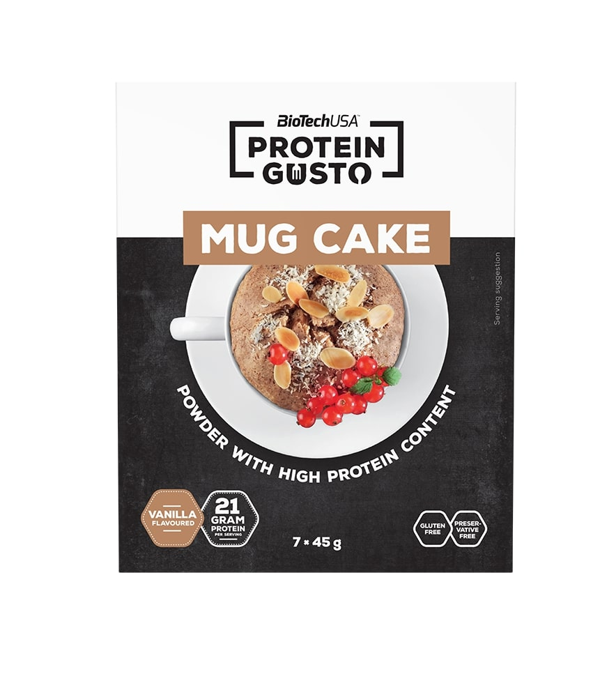 Mug Cake, Vanilla - 7 x 45g versandkostenfrei/portofrei bestellen/kaufen