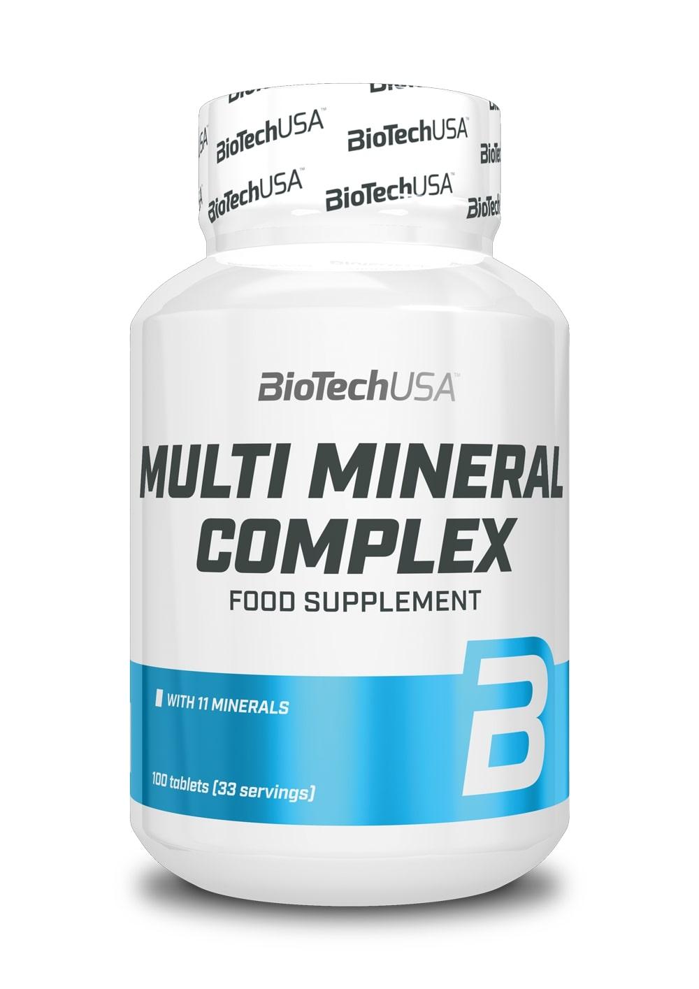 Multi Mineral Complex - 100 tablets versandkostenfrei/portofrei bestellen/kaufen