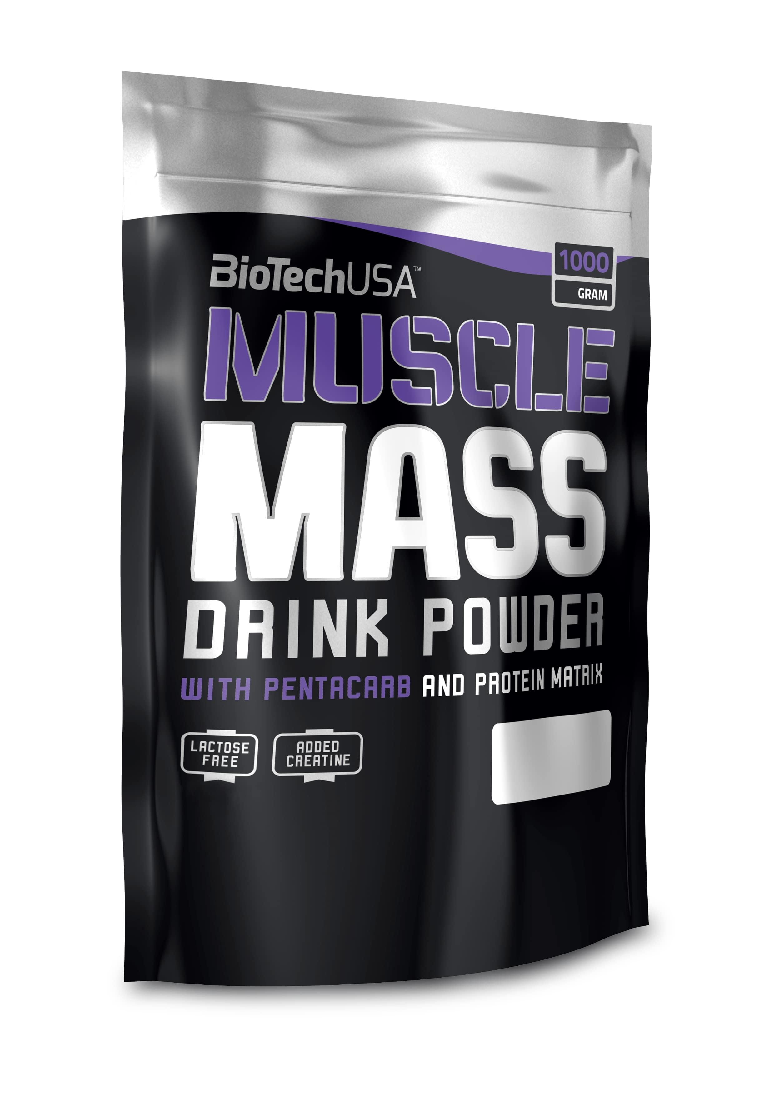 Muscle Mass, Chocolate - 1000g versandkostenfrei/portofrei bestellen/kaufen