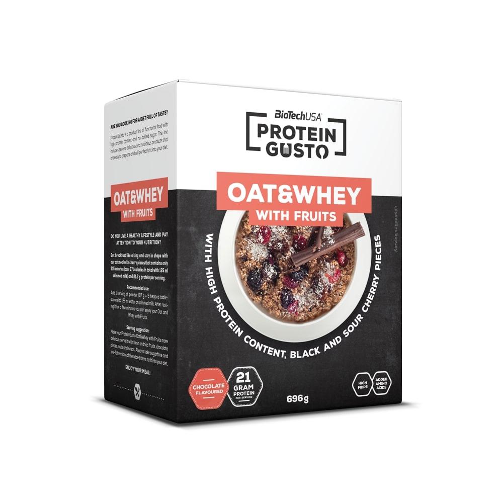 Oat & Whey with Fruits, Chocolate - 696g versandkostenfrei/portofrei bestellen/kaufen