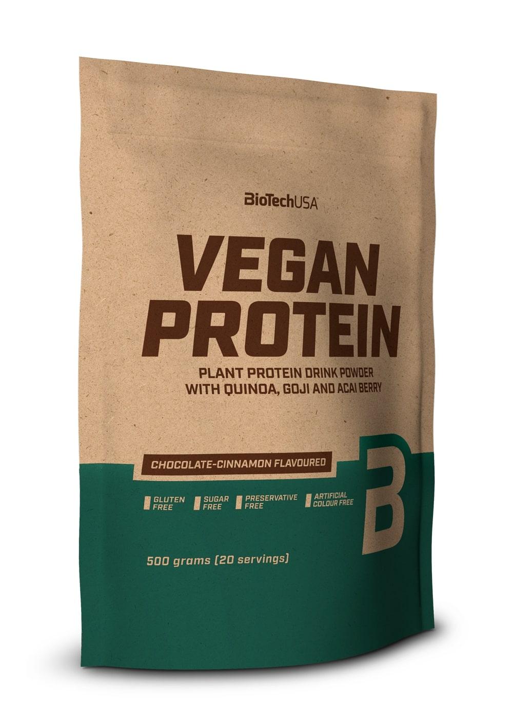 Vegan Protein, Chocolate-Cinnamon - 500g versandkostenfrei/portofrei bestellen/kaufen