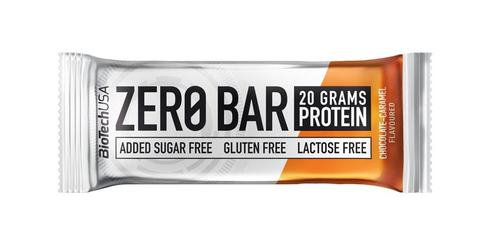 Zero Bar, Chocolate-Caramel - 20 x 50g versandkostenfrei/portofrei bestellen/kaufen