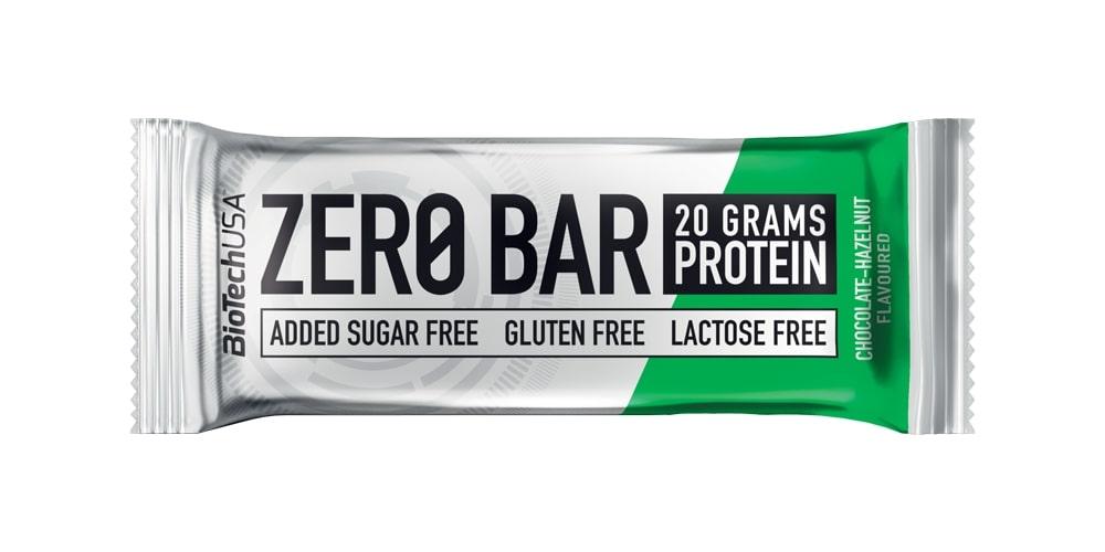 Zero Bar, Chocolate-Hazelnut - 20 x 50g versandkostenfrei/portofrei bestellen/kaufen