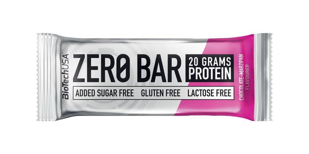 Zero Bar, Chocolate-Marzipan - 20 x 50g versandkostenfrei/portofrei bestellen/kaufen