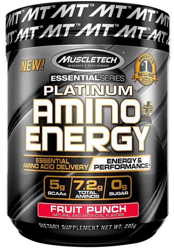 Platinum Amino + Energy, Fruit Punch - 295g versandkostenfrei/portofrei bestellen/kaufen