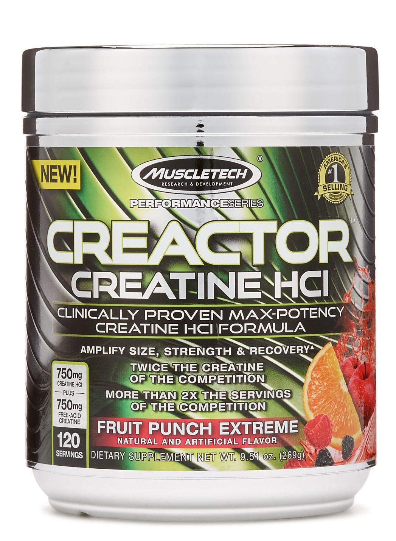 Creactor, Fruit Punch Extreme - 269g versandkostenfrei/portofrei bestellen/kaufen