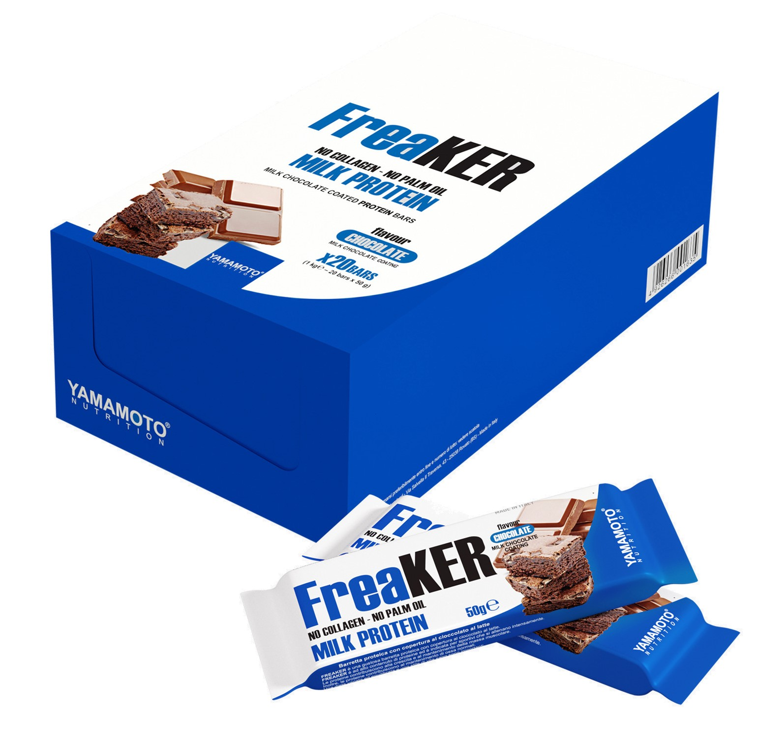 FreaKER, Almonds with White Chocolate Coating - 20 x 50g versandkostenfrei/portofrei bestellen/kaufen