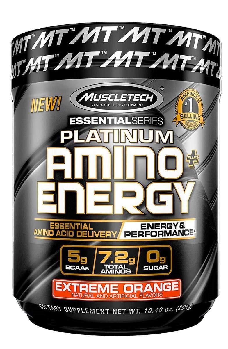 Platinum Amino + Energy, Extreme Orange - 295g versandkostenfrei/portofrei bestellen/kaufen