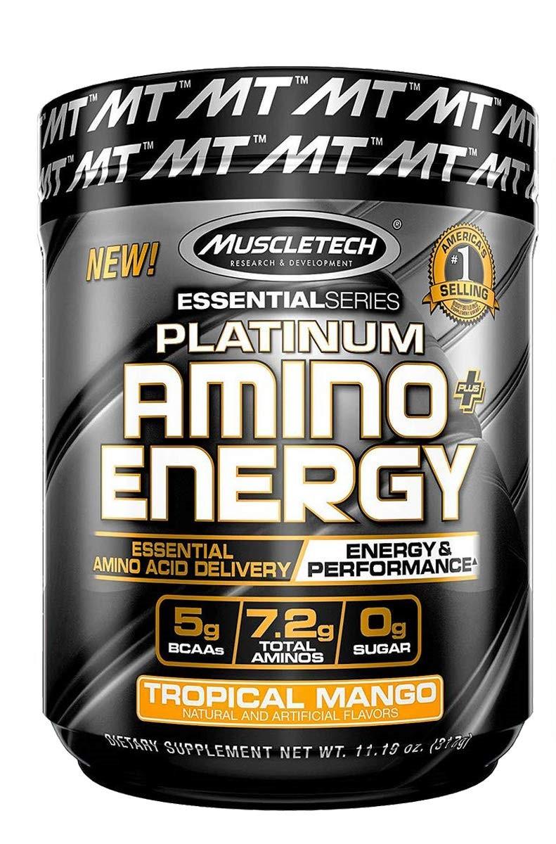 Platinum Amino + Energy, Tropical Mango - 317g versandkostenfrei/portofrei bestellen/kaufen
