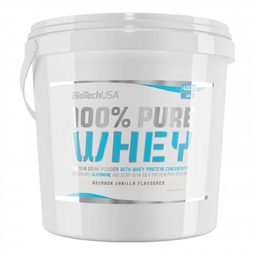 100% Pure Whey, Strawberry - 4000g versandkostenfrei/portofrei bestellen/kaufen