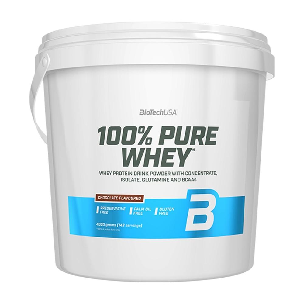 100% Pure Whey, Chocolate - 4000g versandkostenfrei/portofrei bestellen/kaufen