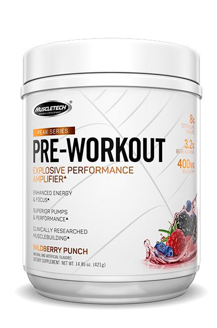 Peak Series Pre-Workout, Gummy Worm - 435g versandkostenfrei/portofrei bestellen/kaufen