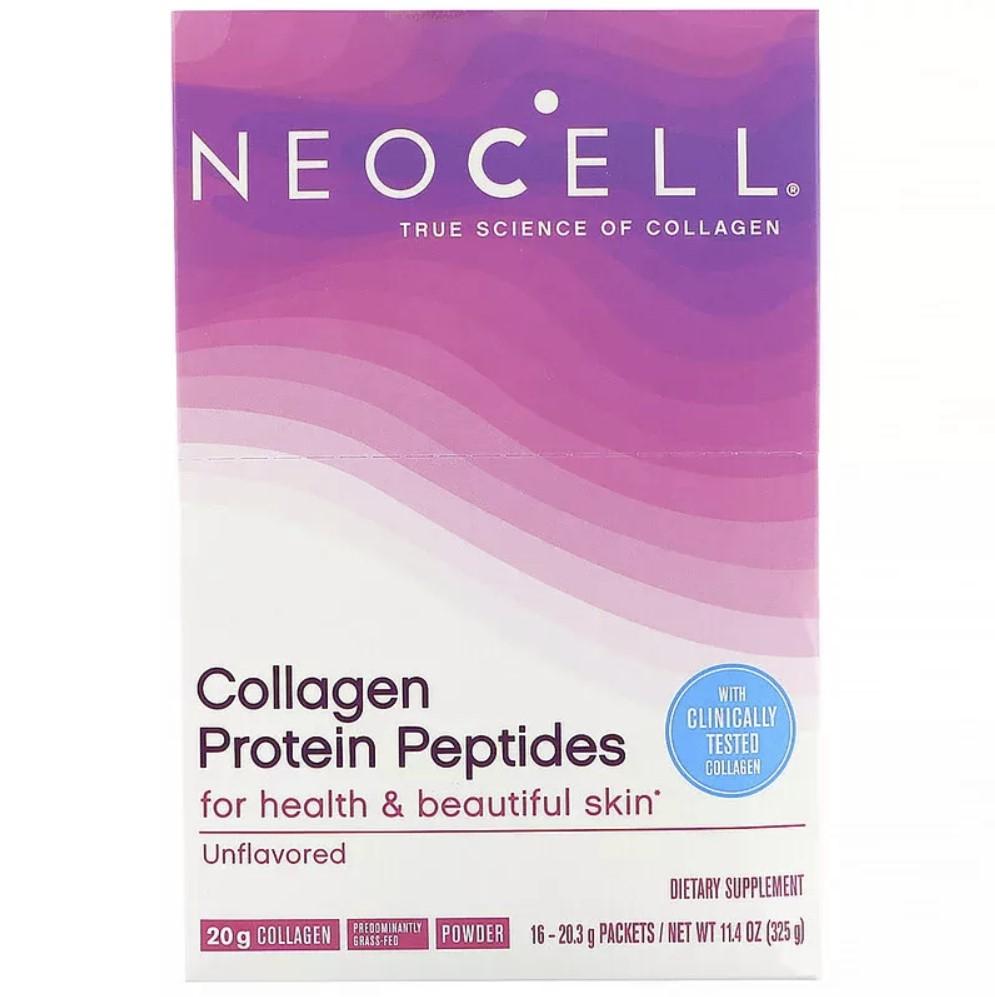 Collagen Protein Peptides, Unflavored - 16 packets (354g) versandkostenfrei/portofrei bestellen/kaufen