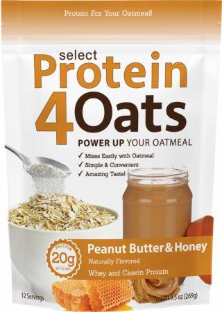 Select Protein 4 Oats, Peanut Butter & Honey - 269g versandkostenfrei/portofrei bestellen/kaufen