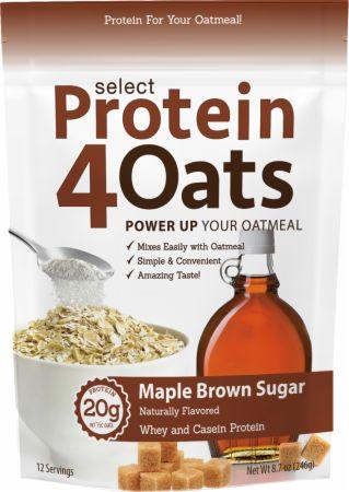 Select Protein 4 Oats, Maple Brown Sugar - 246g versandkostenfrei/portofrei bestellen/kaufen