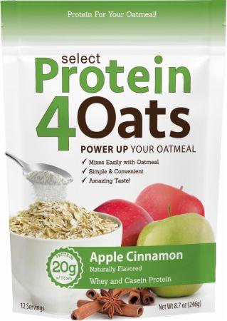 Select Protein 4 Oats, Apple Cinnamon - 246g versandkostenfrei/portofrei bestellen/kaufen