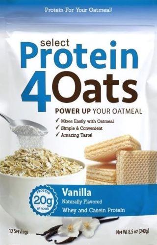 Select Protein 4 Oats, Vanilla - 240g versandkostenfrei/portofrei bestellen/kaufen